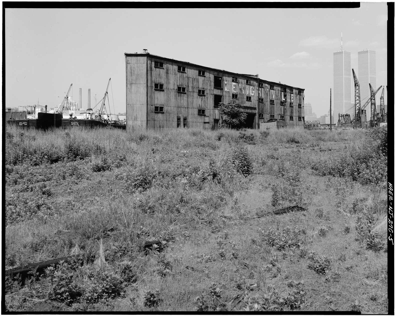 Lehigh Valley Railroad, Pier G, Jersey City, Hudson County, NJ