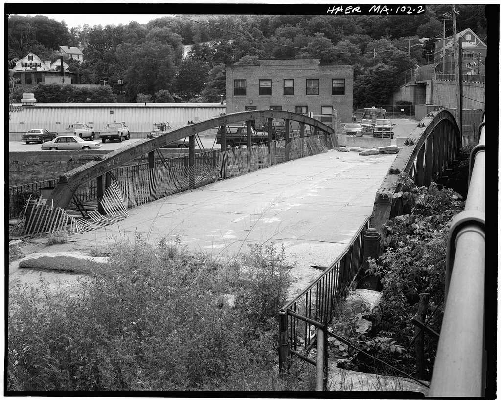 Lower Rollstone Street Bridge, Spanning Nashua River on Rollstone Street, Fitchburg, Worcester County, MA