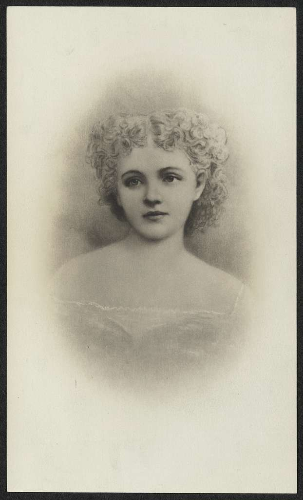 Mary McCook, First Suffrage leader in Colorado and wife of Gov. McCook - first territorial governor of Colorado