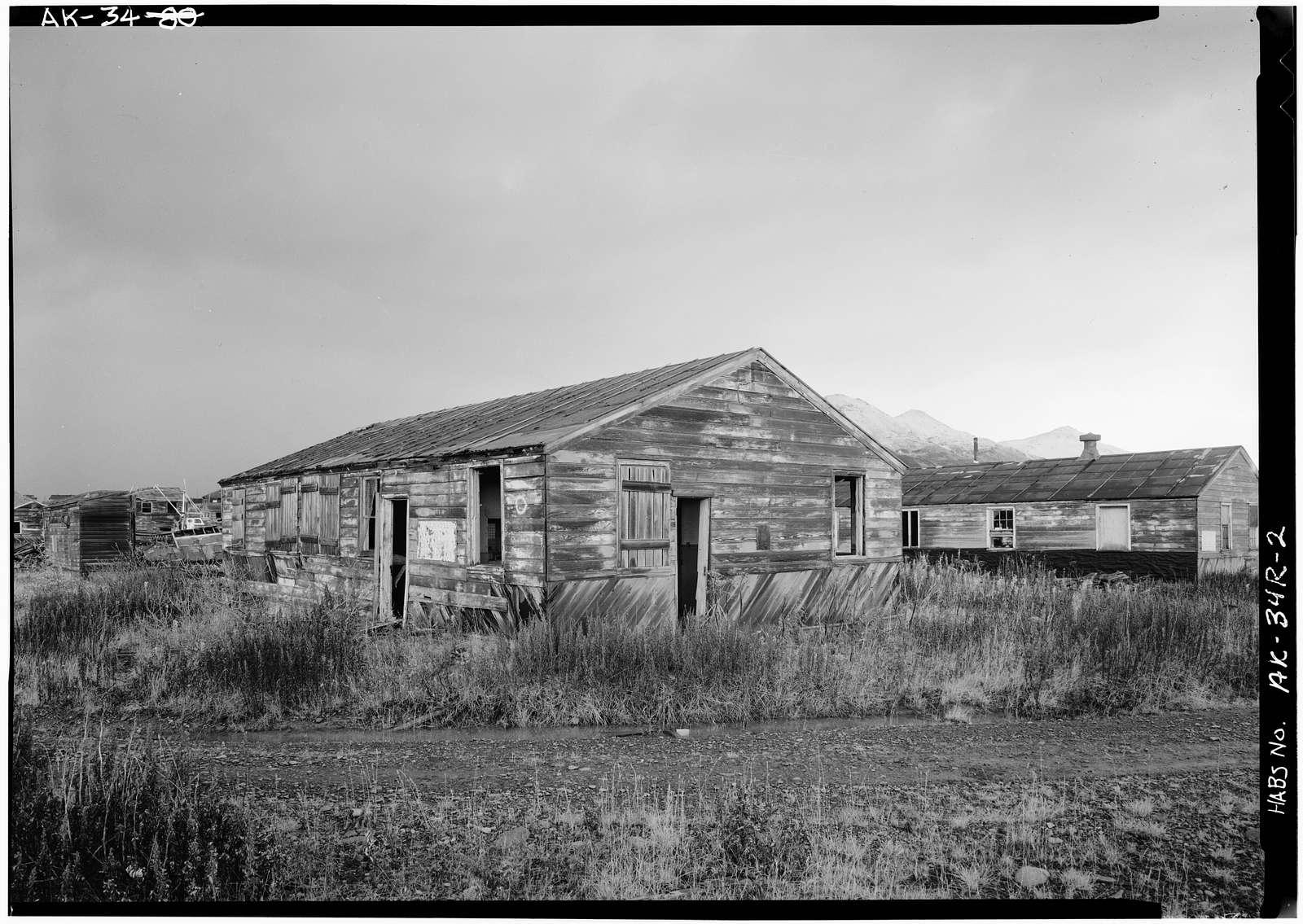 Naval Operating Base Dutch Harbor & Fort Mears, Margaret Bay Cantonment Post Office, Unalaska, Aleutian Islands, AK
