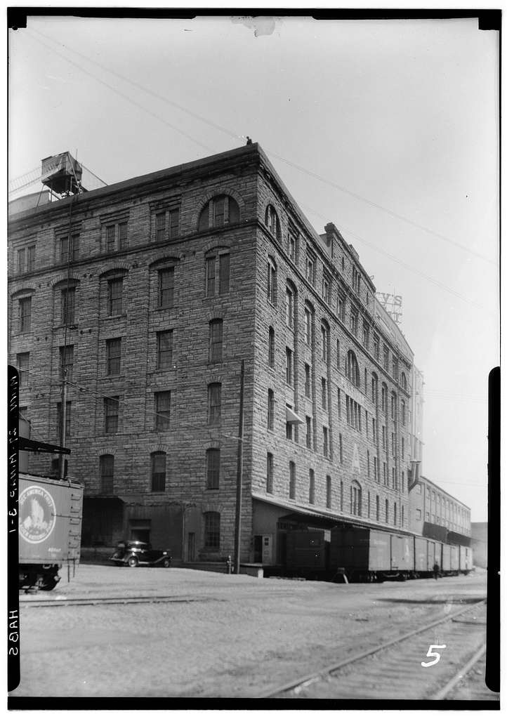 "Pillsbury Milling Complex, Pillsbury ""A"" Mill, 116 Third Avenue/301 Main Street, Southeast, Minneapolis, Hennepin County, MN"