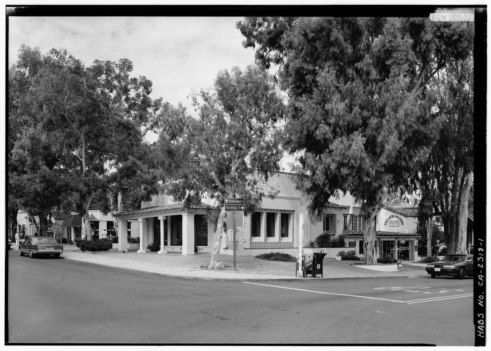 Rancho Santa Fe School (Second), 6024 Paseo Delicias, Rancho Santa Fe, San Diego County, CA