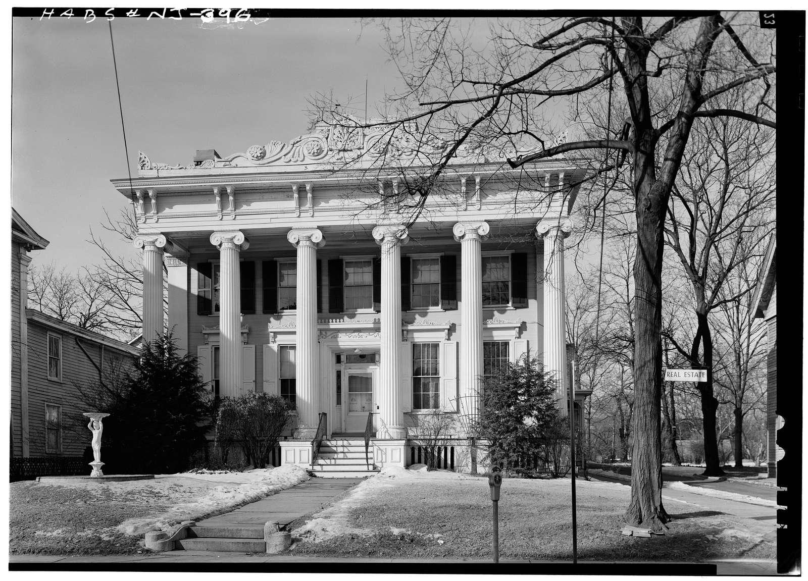 Reading-Large House, 119 Main Street, Flemington, Hunterdon County, NJ