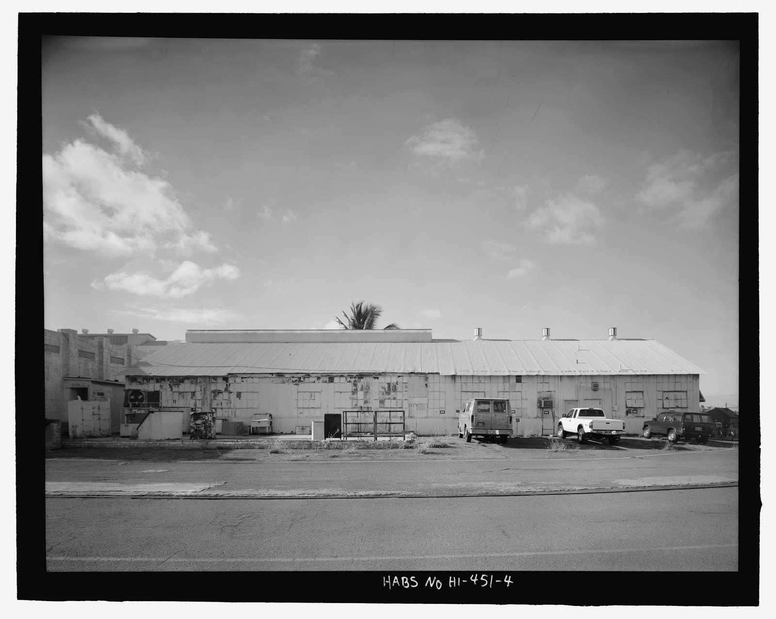 U.S. Naval Base, Pearl Harbor, Marine Railway No. 1 Accessories House & Apprentice Welding School, Additions, Intersection of Avenue B & Sixth Street, Pearl City, Honolulu County, HI
