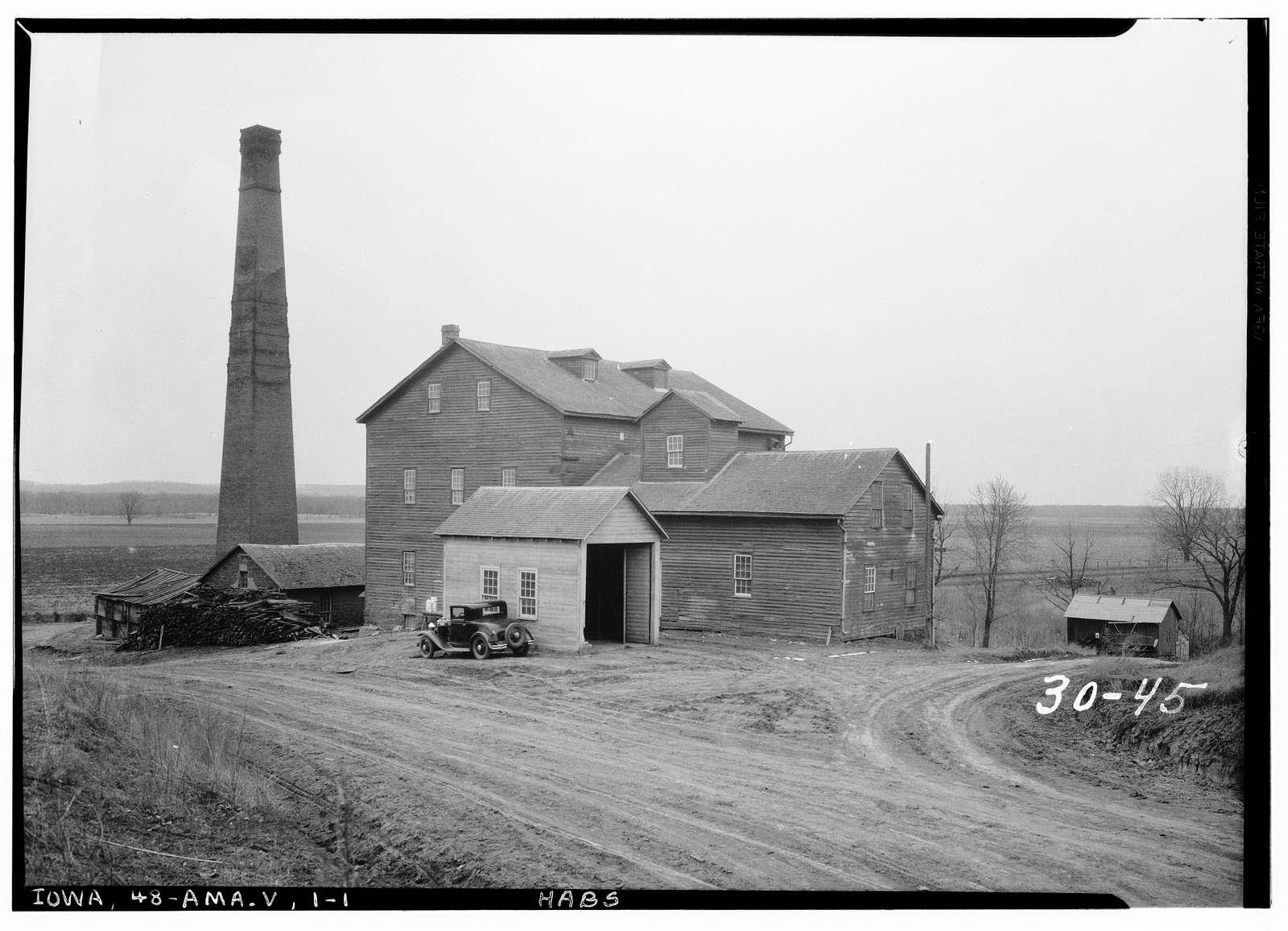 West Amana Flour Mill, Amana, Iowa County, IA