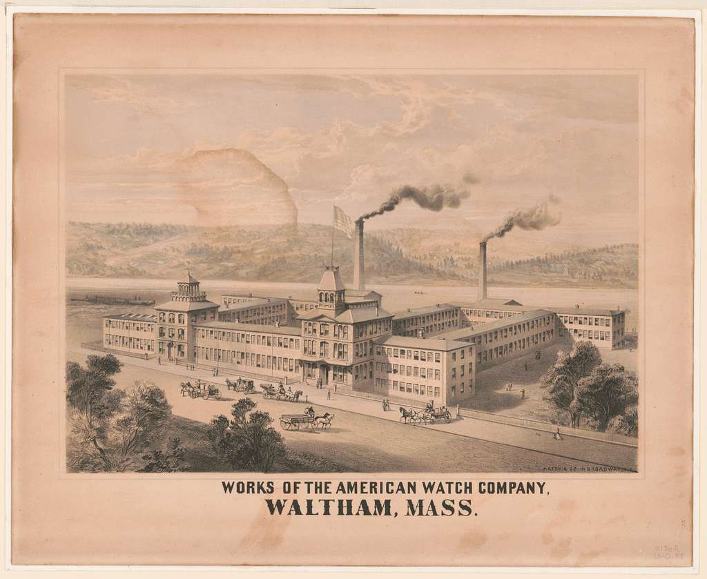 Works of the American Watch Company, Waltham, Mass.