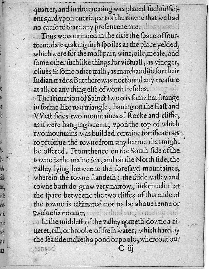 A svmmarie and trve discovrse of Sir Frances Drakes West Indian voyage. Wherein were taken, the townes of Saint Iago, Sancto Domingo, Cartegena & Saint Augustine.