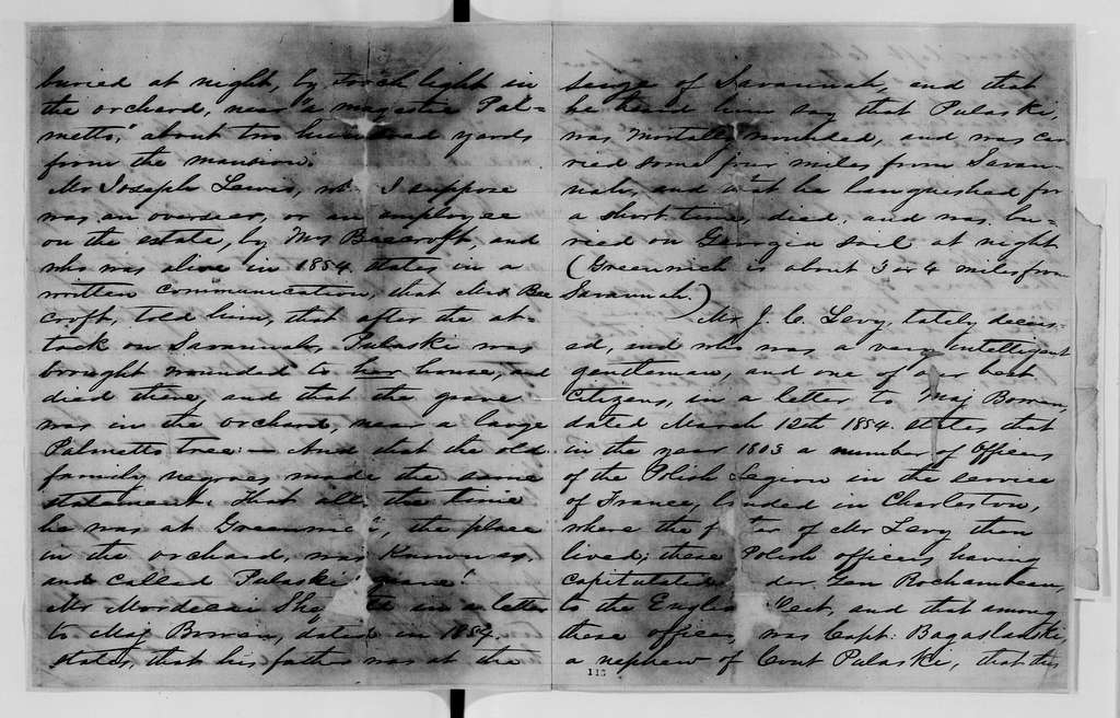 Alexander Hamilton Stephens Papers: General Correspondence, 1784-1886; 1855, Dec. 28-1857, Aug. 3
