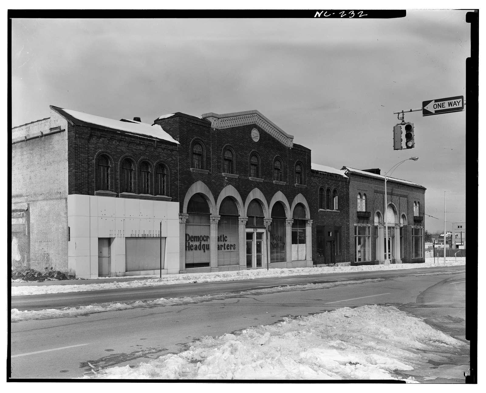 Buick Motor Company & Greensboro Motor Company Dealerships, 309 & 315 North Elm Street, Greensboro, Guilford County, NC