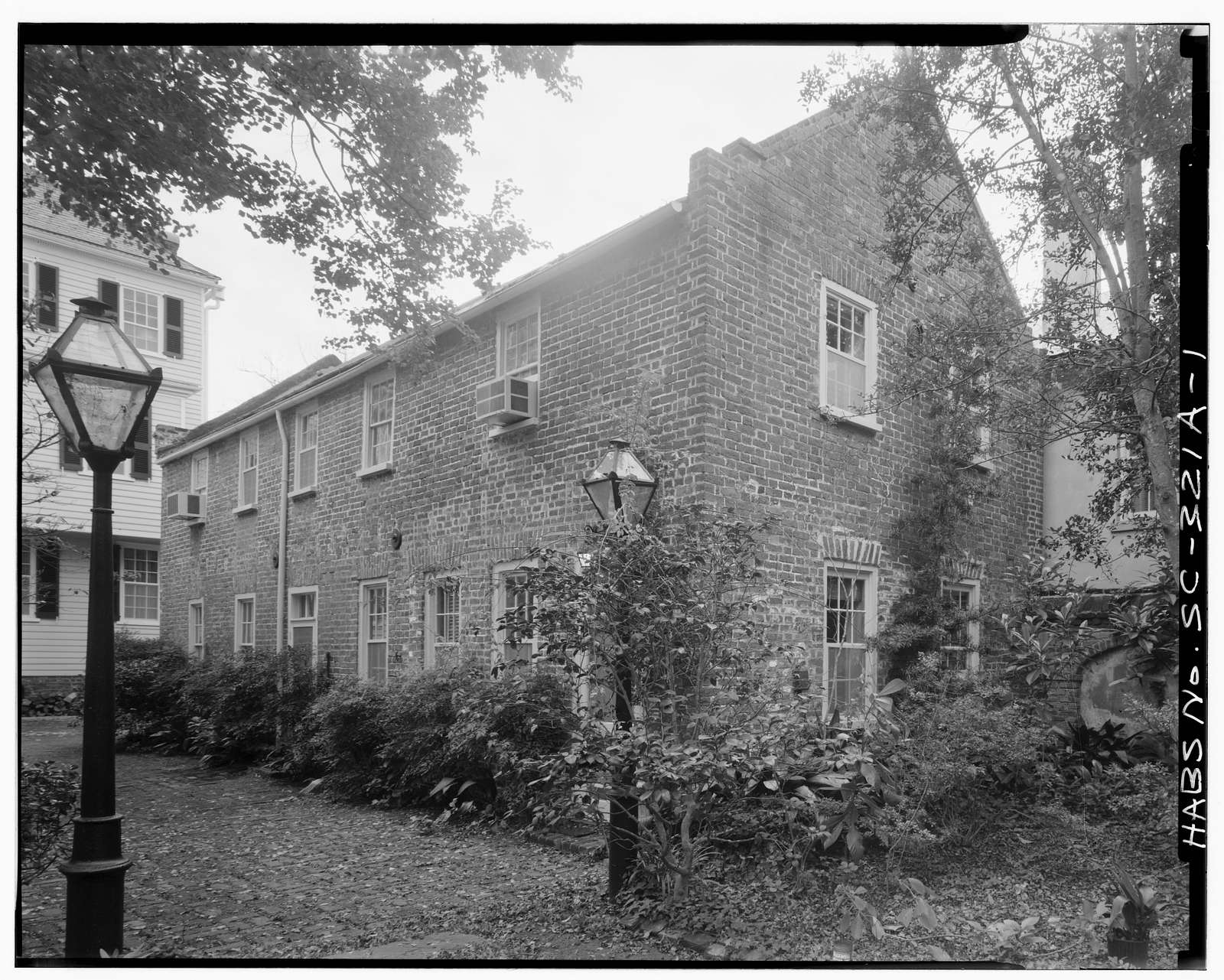 Colonel John Ashe House, Carriage House, 32 South Battery Street, Charleston, Charleston County, SC