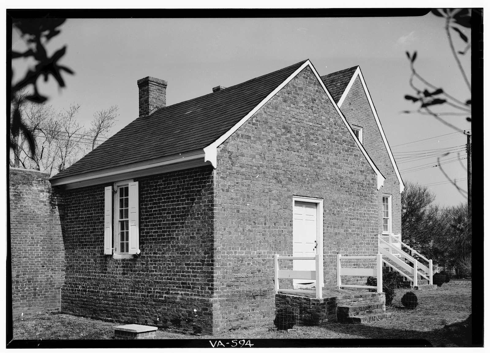 Courthouse Group Area Survey, U.S. Route 13, Eastville, Northampton County, VA