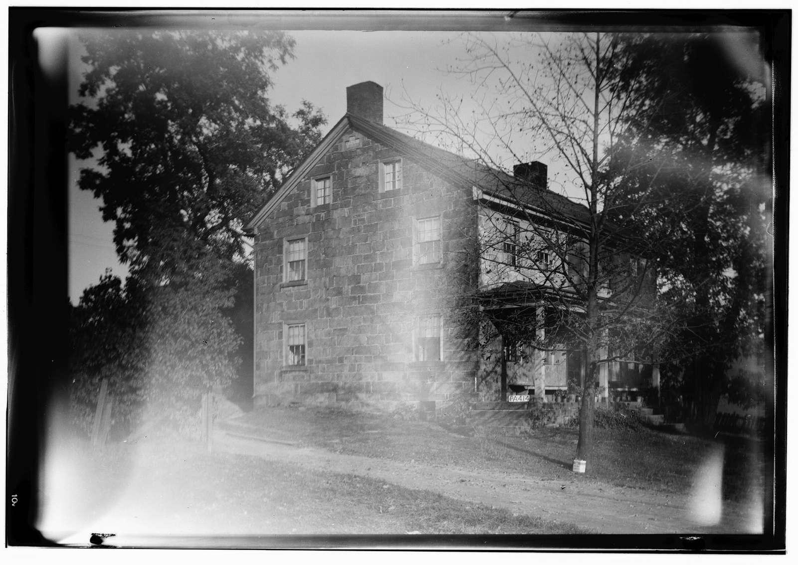 David Stauffer Farm Buildings, Harmony, Butler County, PA