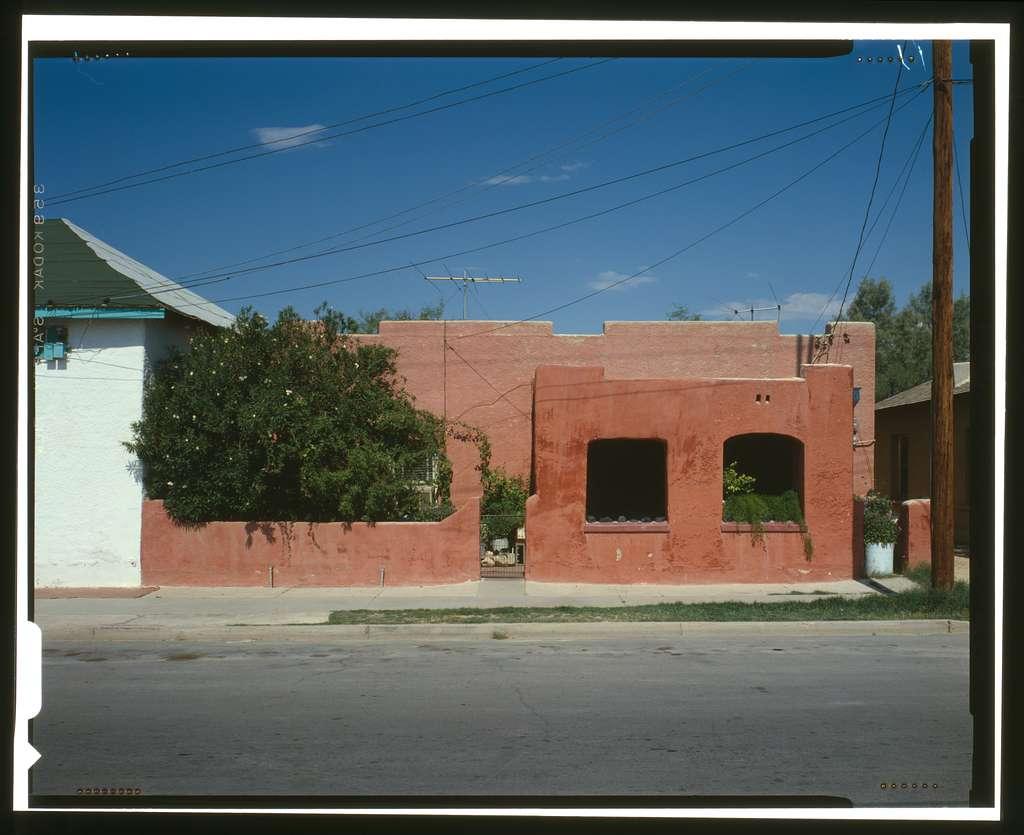 Diaz House, 483 South Convent Avenue, Tucson, Pima County, AZ