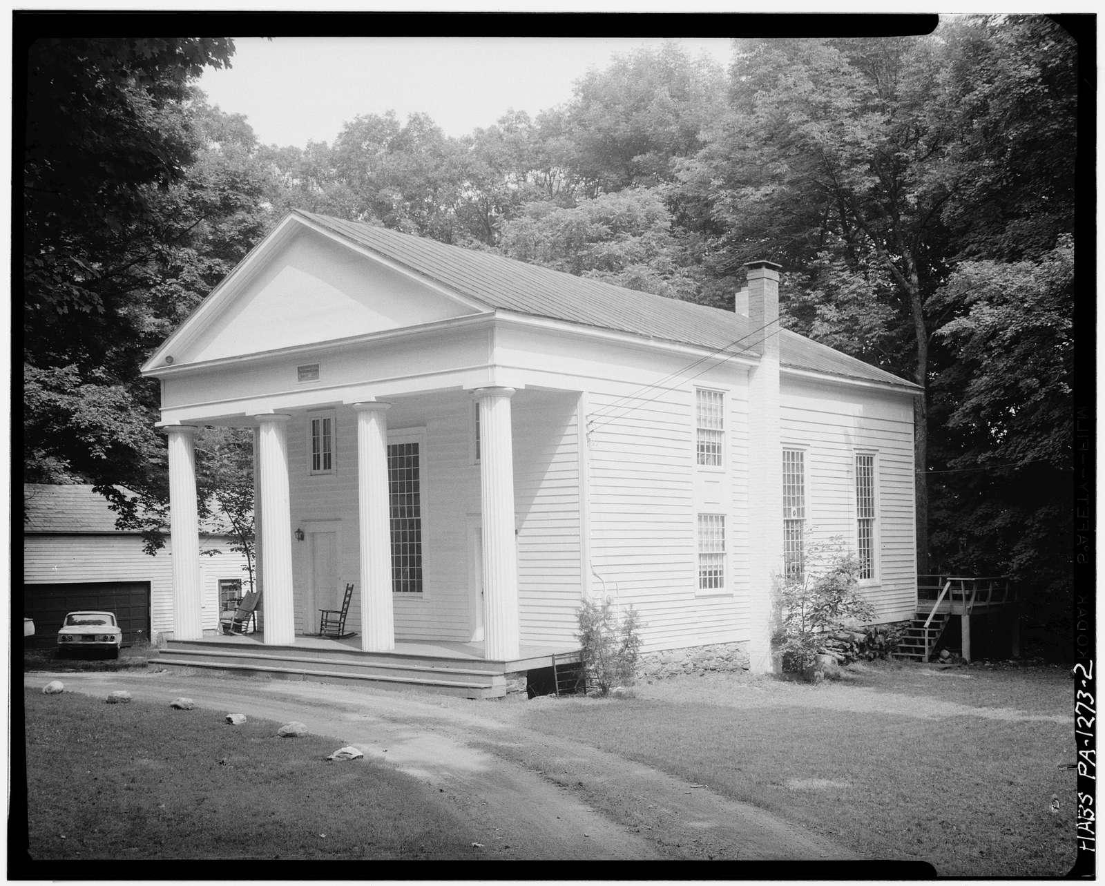 Dutch Reformed Church, Dingmans Ferry, Pike County, PA