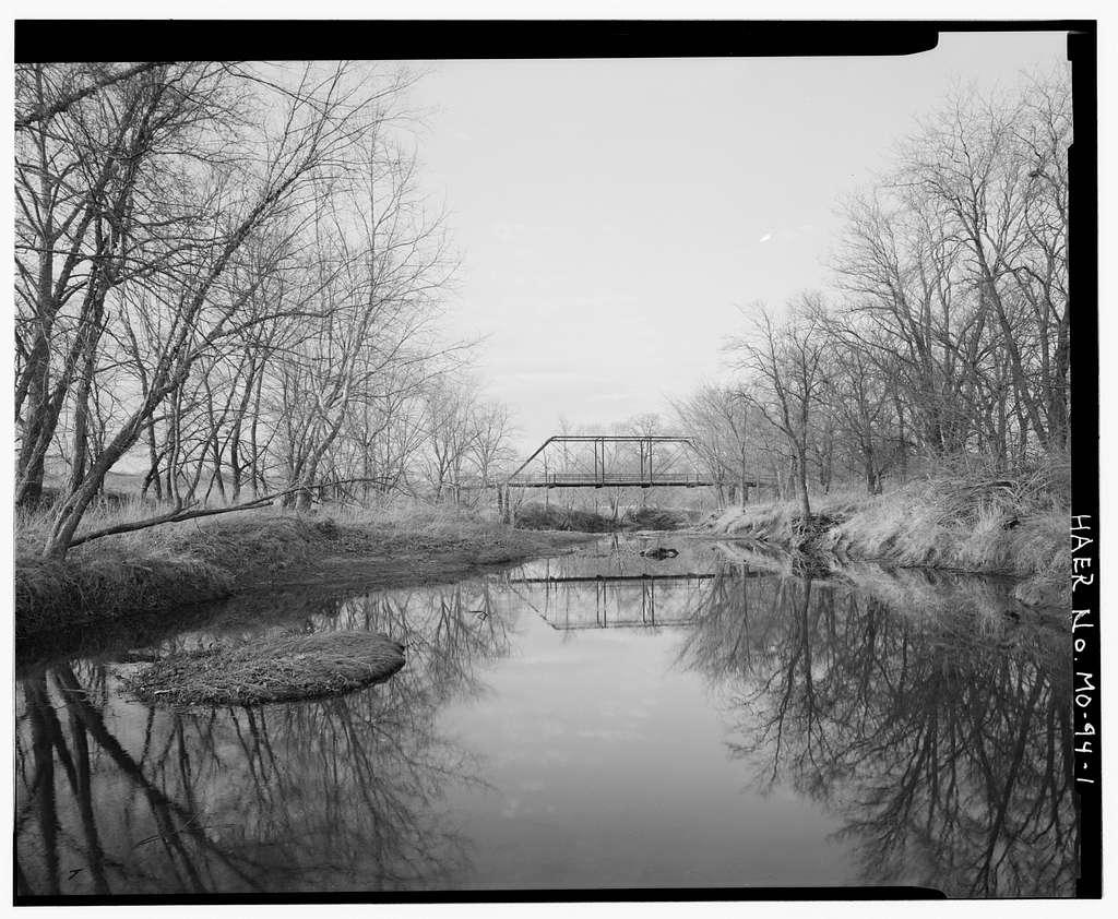 Gill Bridge, Spanning Lick Creek at County Road 181, Perry, Ralls County, MO