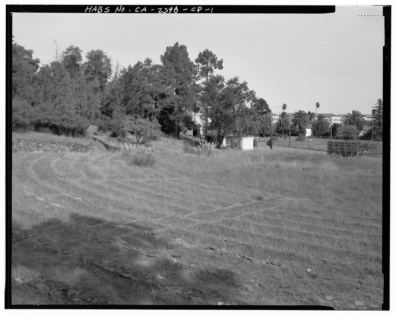 Hamilton Field, Amphitheater, North Oakland Drive near East Hospital Drive, Novato, Marin County, CA