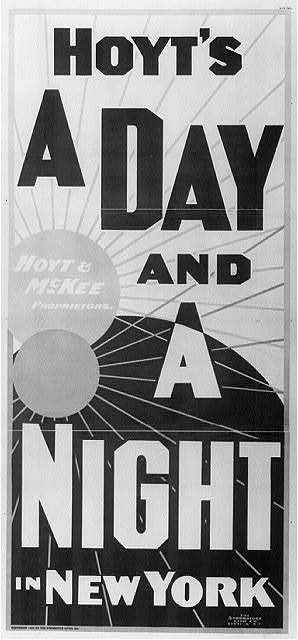 Hoyt's A day and a night in New York