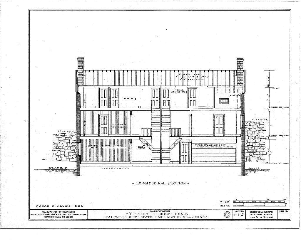 Huyler Dock House, Palisades Interstate Park, Alpine, Bergen County, NJ