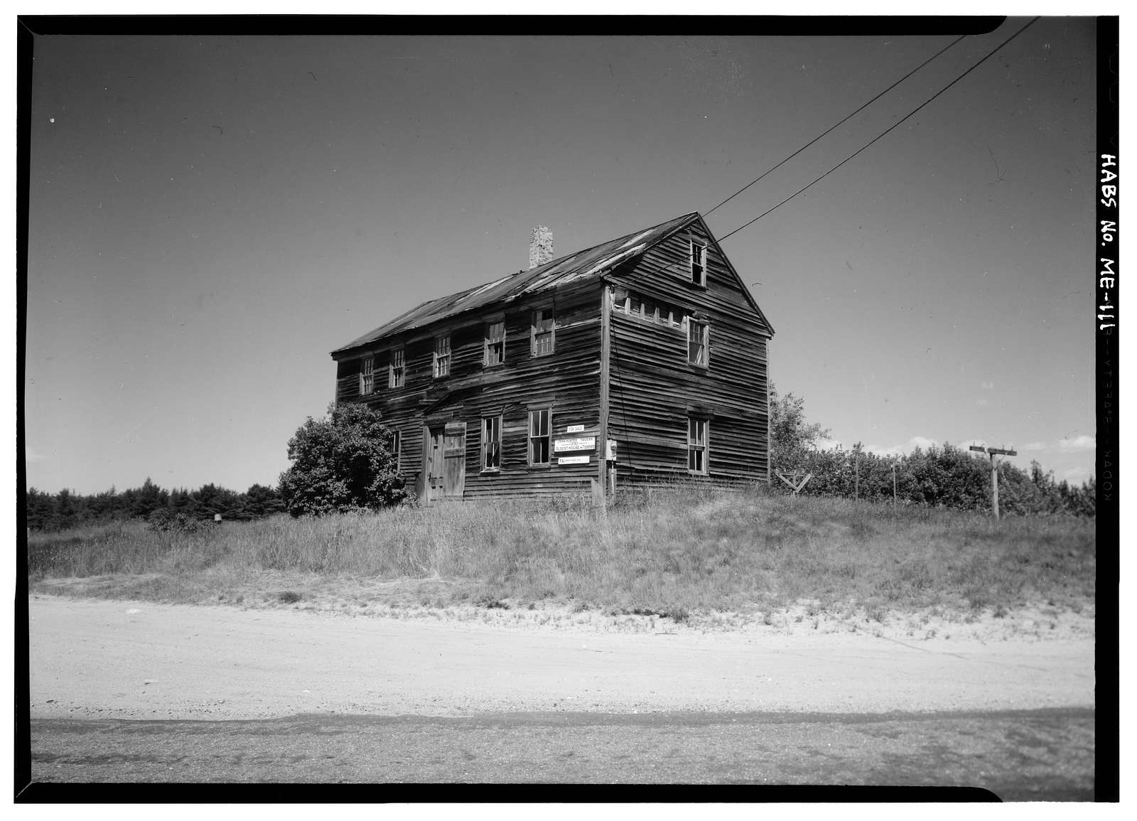 John Hunter Tavern, Topsham-Bowdoinham Road (State Route 24), Topsham, Sagadahoc County, ME