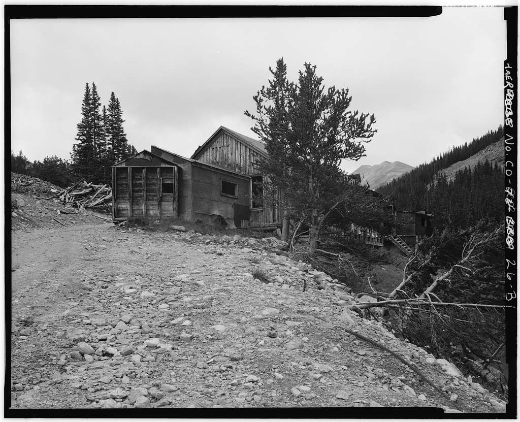Mary Murphy Mining Complex, Boarding House, Iron City (historical), Chaffee County, CO