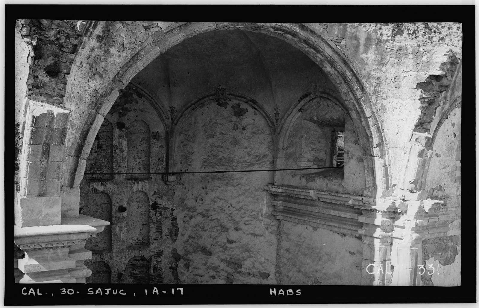 Mission San Juan Capistrano, Stone Church, Olive Street, between U.S. Highway 101 & Main Street, San Juan Capistrano, Orange County, CA