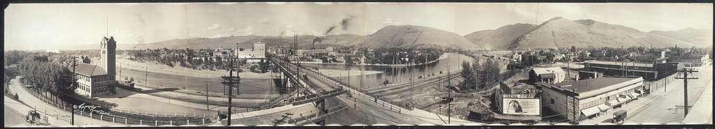 Missoula from Penwell block (panorama)