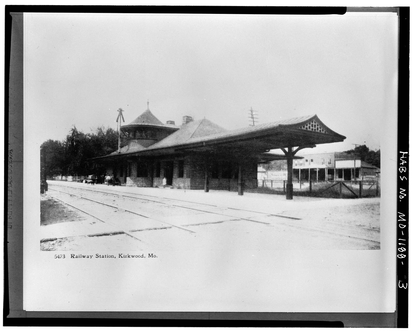 Missouri-Pacific Railroad Station, Kirkwood, St. Louis County, MO