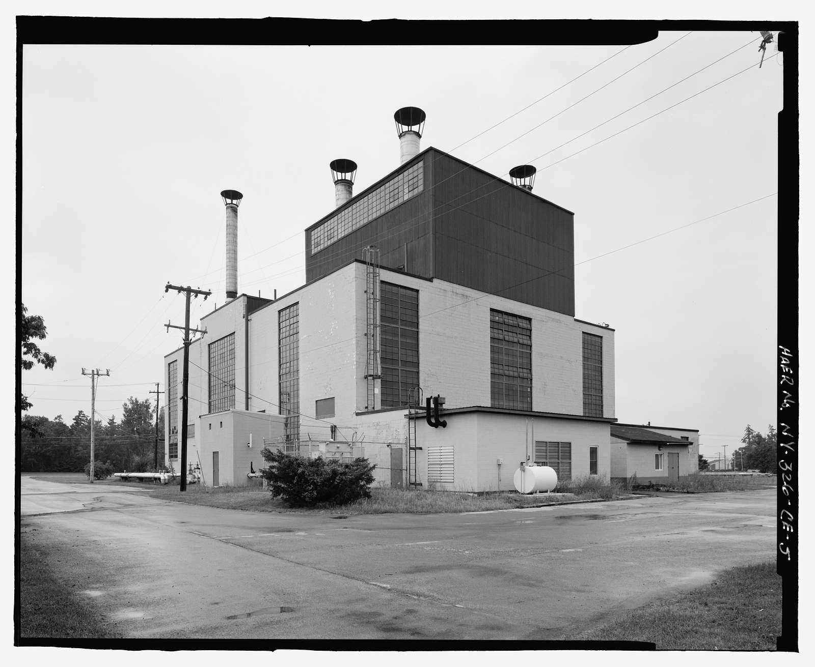 Plattsburgh Air Force Base, Heating Facility, New York Road, Plattsburgh, Clinton County, NY