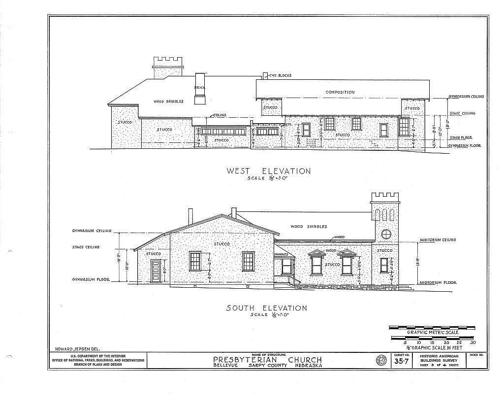 Presbyterian Church, Franklin & Twentieth Streets, Bellevue, Sarpy County, NE