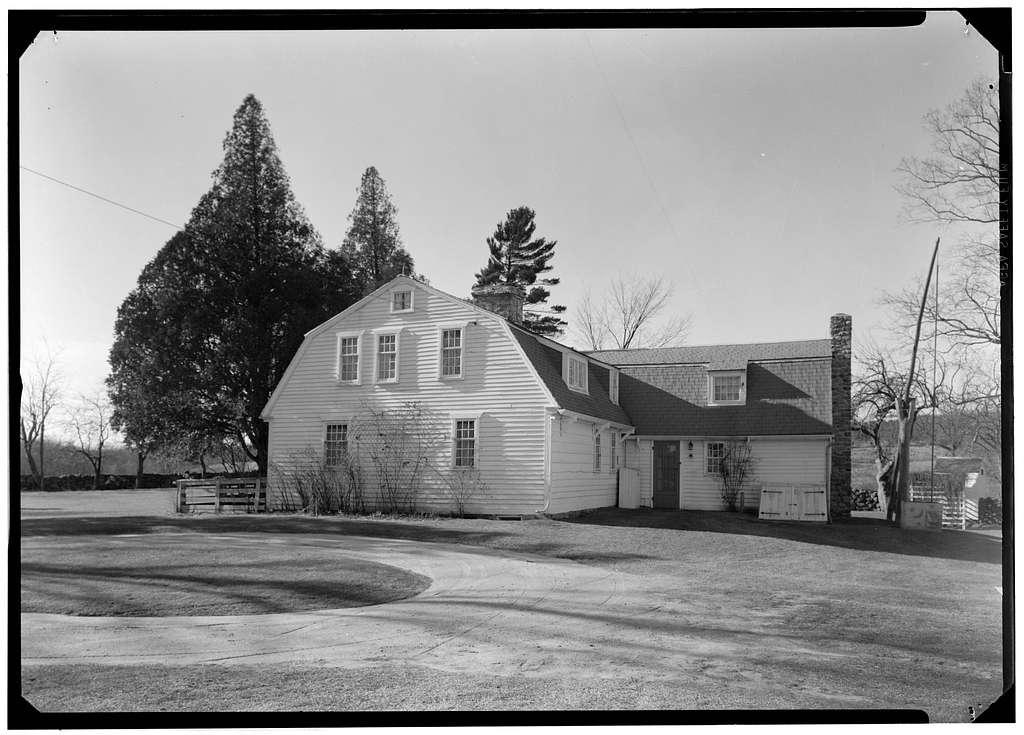 Samuel Clarke House, Lewiston Avenue, Kenyon, Washington County, RI