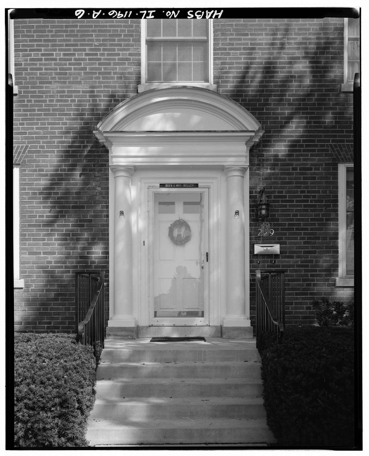 Scott Air Force Base, General Officer Quarters, 229 Birchard Street, O'Fallon, St. Clair County, IL
