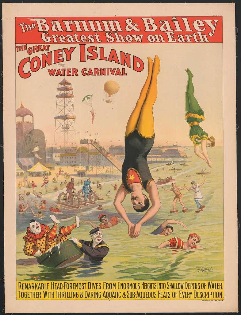 POSTER Coney Island 1940