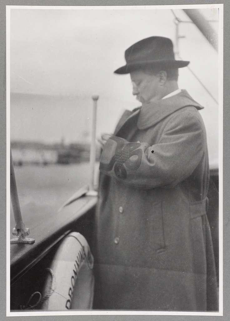 "Theodore Roosevelt on ""Queen Maude"""