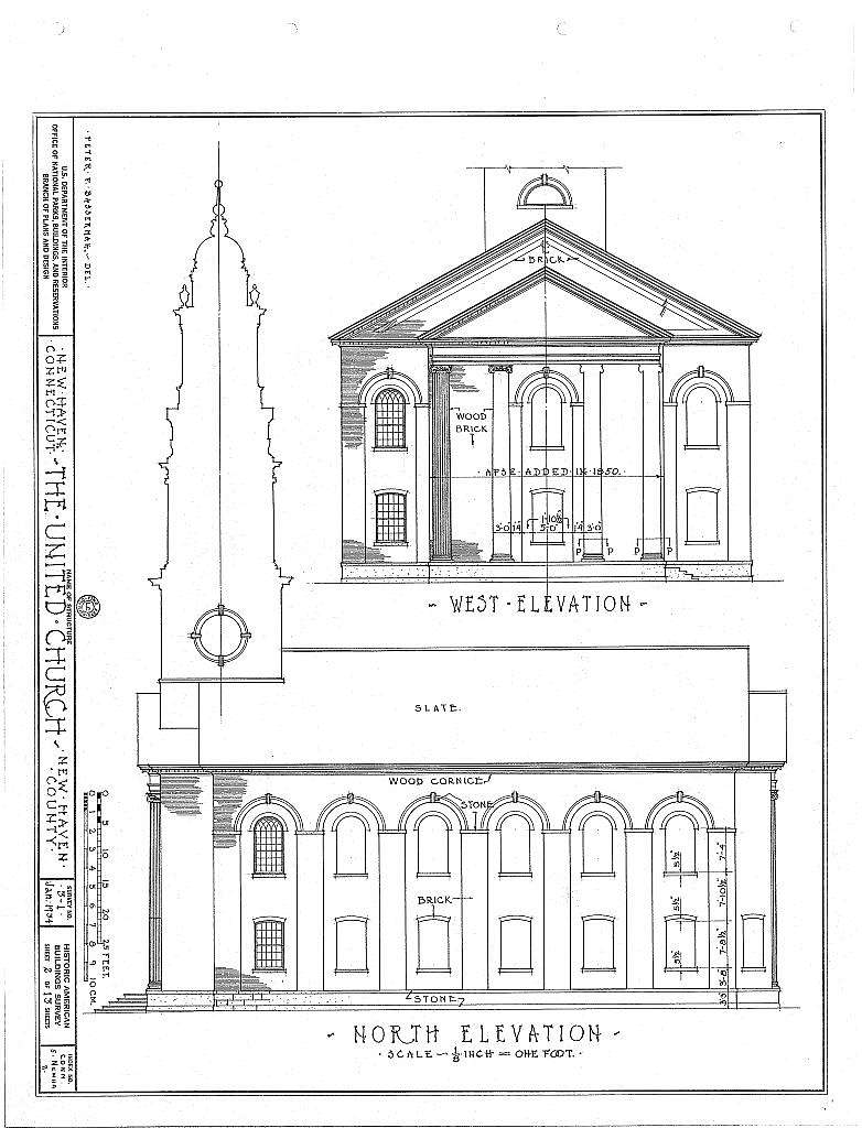 United Church, Elm & Temple Streets, New Haven, New Haven County, CT