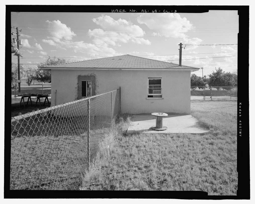 Wellton-Mohawk Irrigation System, Permanent Garage Type 2-G, 30611 and 30621 Wellton-Mohawk Drive, Wellton, Yuma County, AZ