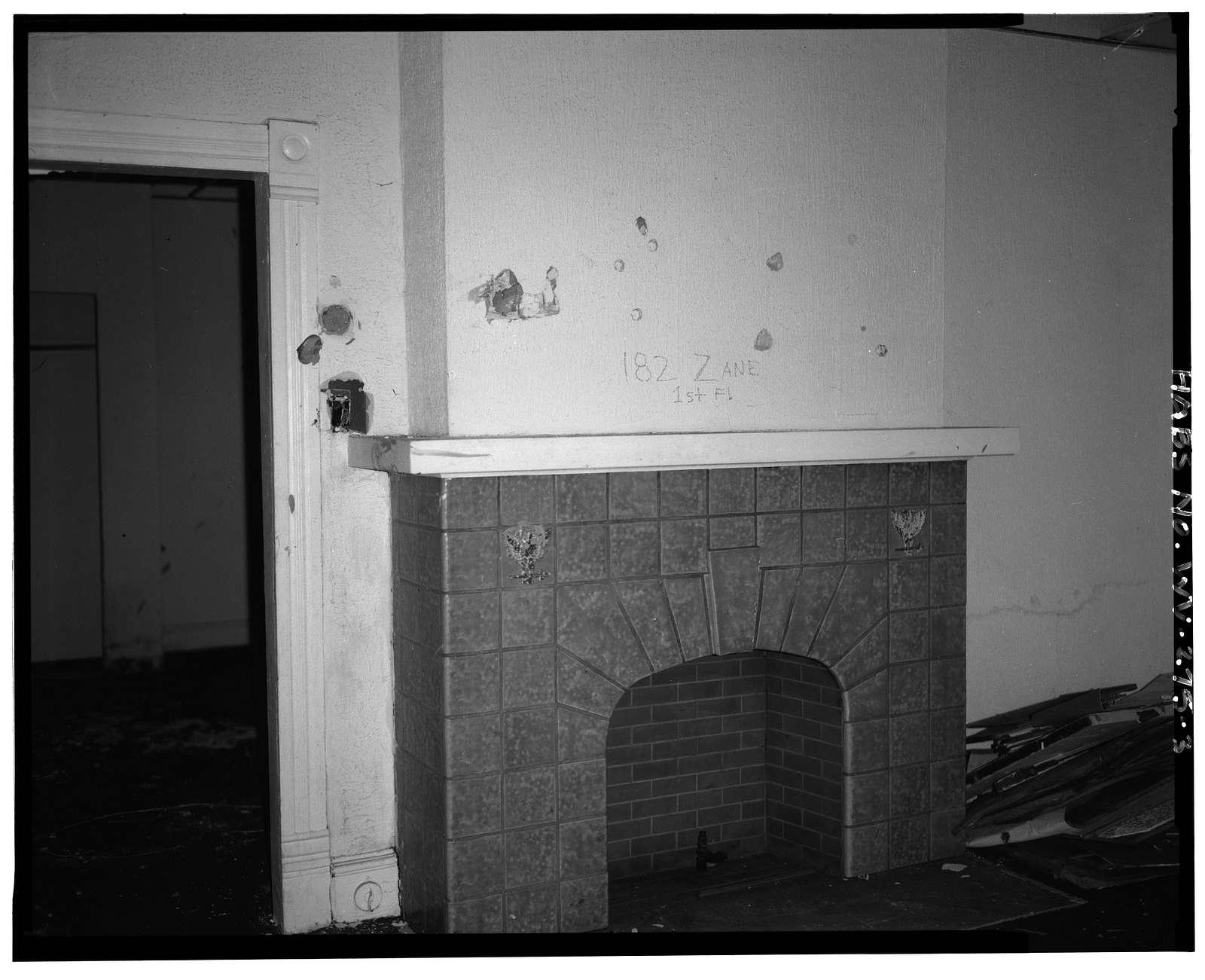 182 Zane Street (House), Wheeling, Ohio County, WV