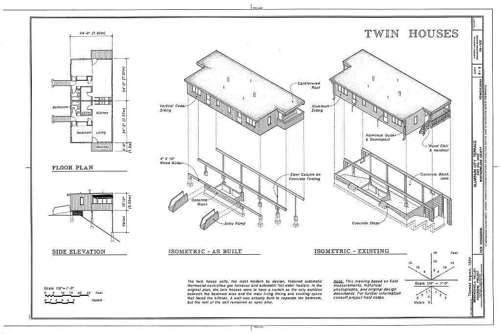 Aluminum City Terrace, East Hill Drive, New Kensington, Westmoreland County, PA