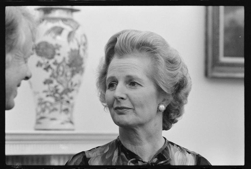 [British Prime Minister Margaret Thatcher with President Jimmy Carter at the White House, Washington, D.C.]