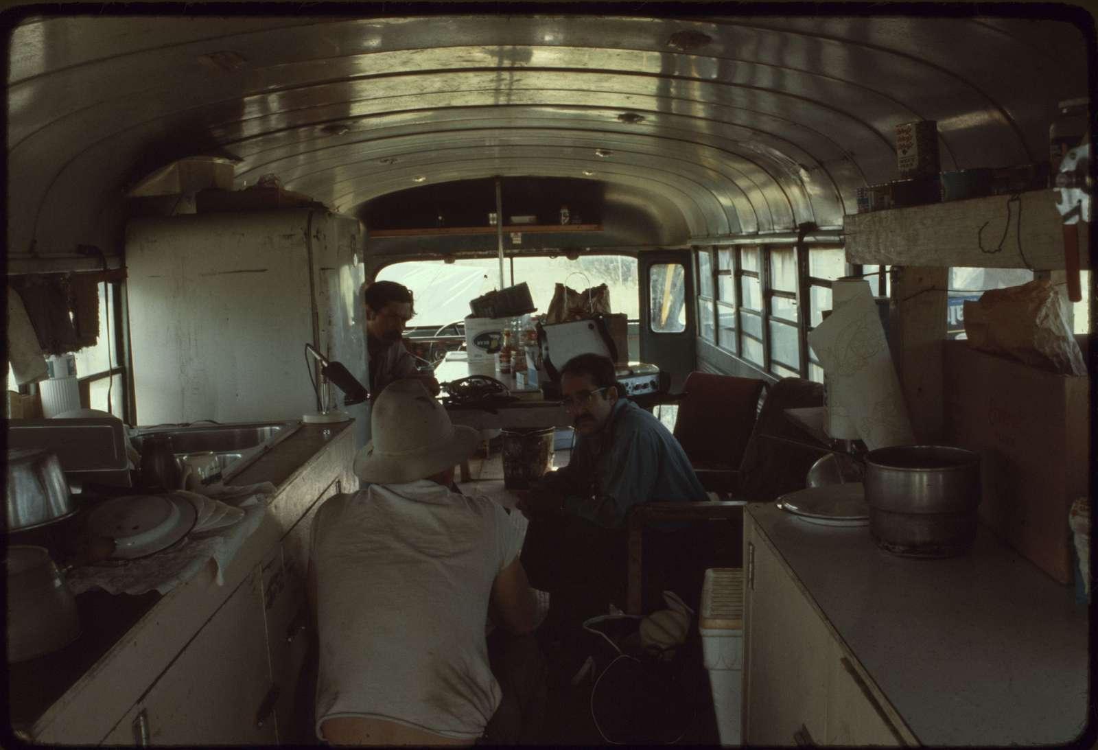 Cabin Interior, Calico Line Camp