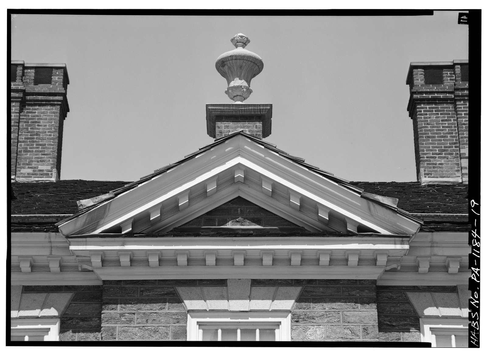Cliveden, 6401 Germantown Avenue, Philadelphia, Philadelphia County, PA