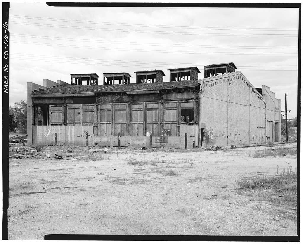 Colorado & Southern Railway Denver Roundhouse Complex, Seventh Street, East of South Platte River, Denver, Denver County, CO