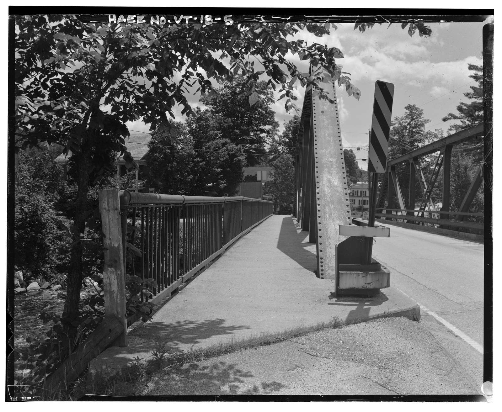 Cuttingsville Bridge, Spanning Mill River at State Route 103, Shrewsbury, Rutland County, VT