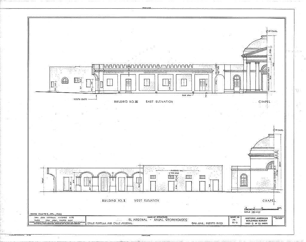 El Arsenal, Naval Storehouses, Calle Arsenal, San Juan, San Juan Municipio, PR