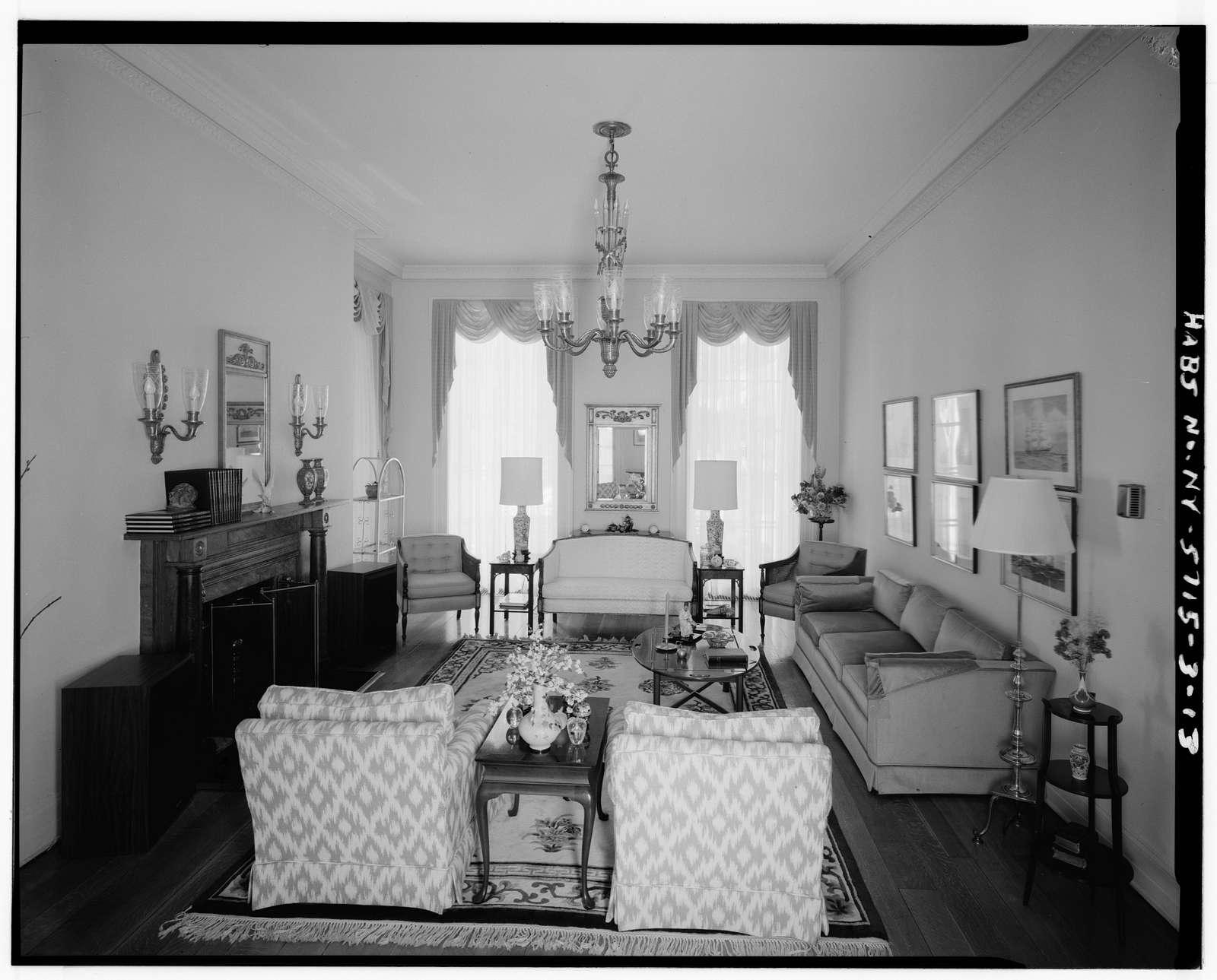 Governors Island, Commanding Officer's House, New York Harbor, Nolan Park near Barry Road, New York, New York County, NY