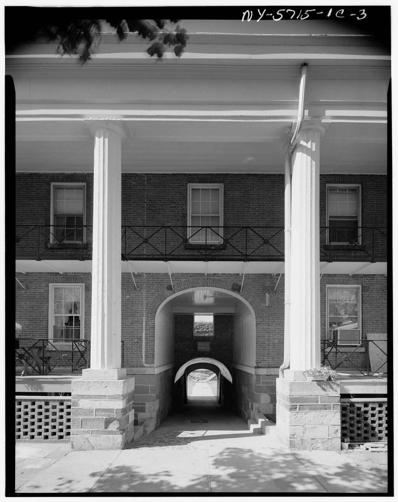 Governors Island, Fort Columbus, Building No. 210, New York Harbor, New York, New York County, NY