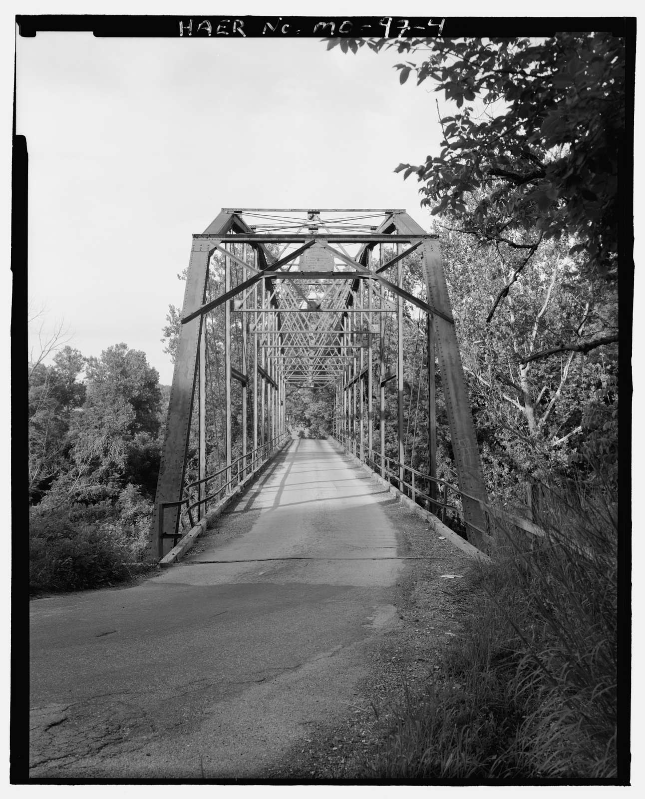 Hartmann's Ford Bridge, Spanning Bourbeuse River on North Bend Road, Union, Franklin County, MO