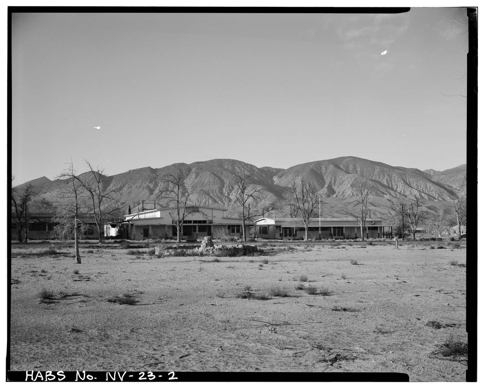 Hawthorne Naval Ammunition Depot, Babbitt Housing Area, U.S. Highway 95, Hawthorne, Mineral County, NV