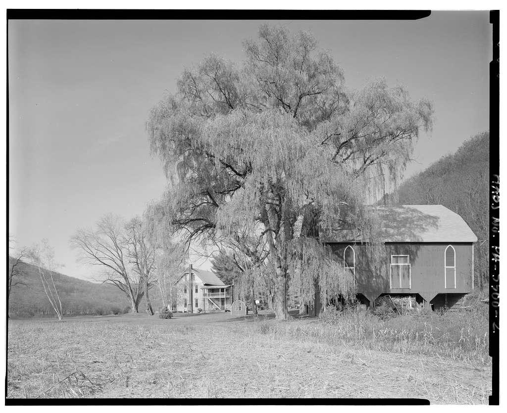 Isaac A. Packer Farm, Legislative Route 18011, 2.4 miles northwest of Jay Street Bridge (Farrandville Road), Lock Haven, Clinton County, PA