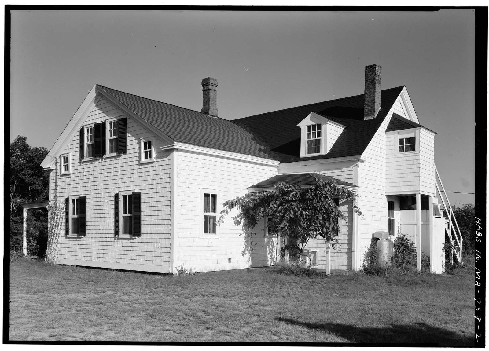 Isaac Rich House, South Pamet Road, Truro, Barnstable County, MA