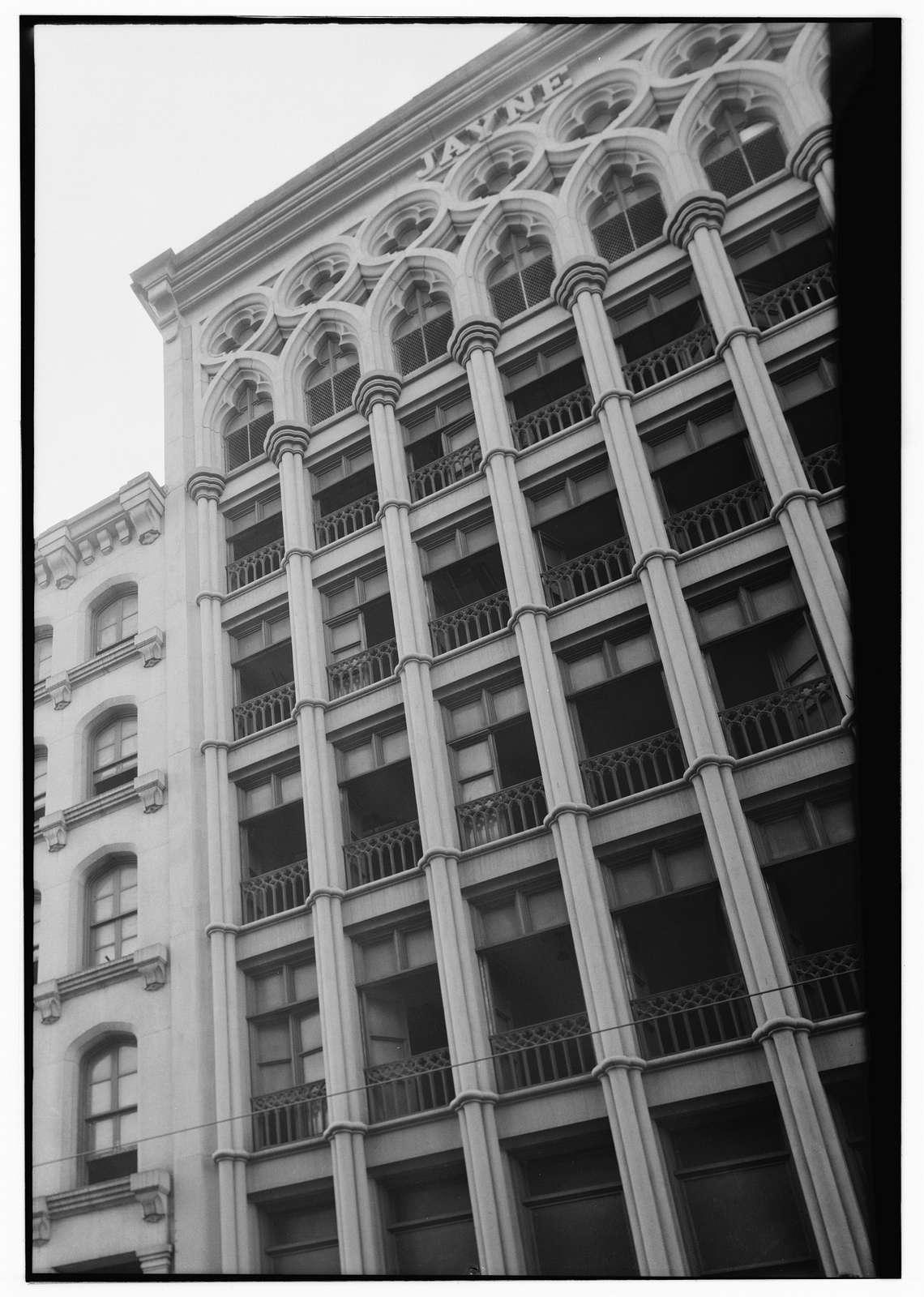 Jayne Building, 242-244 Chestnut Street, Philadelphia, Philadelphia County, PA